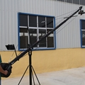 Factory Supply Octagonal Jimmy Jib DSLR Camera Crane 6m(20ft) With Pan Tilt Motorized Head