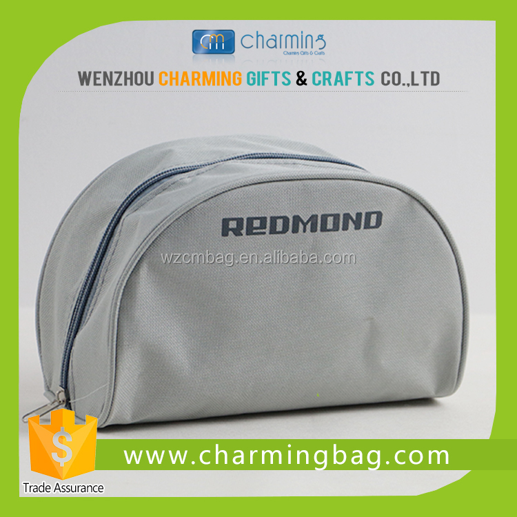 Promotional 600D Polyester Cosmetic bag Pencil Pouch