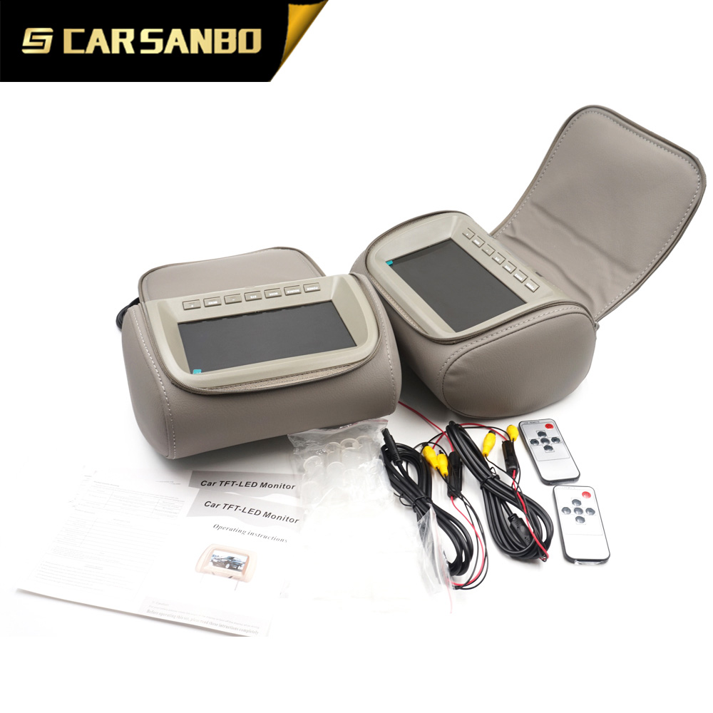 Latest Modal AV758C USB headrest black,beige,grey optional