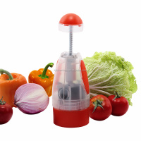 S/S+ABS+PP 26.8*8.6*8.6 Kitchen tools creative vegetable chopper/ginger garlic chopper