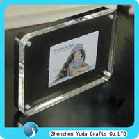perspex photo album, acrylic sandwich photo frame,photo picture frame wholesale