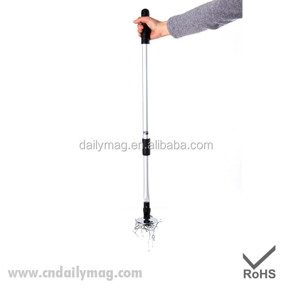 65LBS Telescoping Aluminum Magnetic Pick up Tool With 180 Degree Rotatable Magnet Base