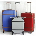 China hard abs trolley vintage trolley travel luggage case