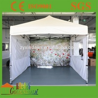 Thermal imprint marquee tent