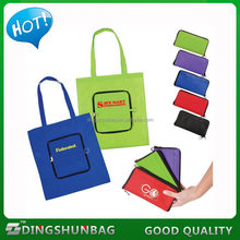 Design cheapest foldable non woven grocery shopping bag