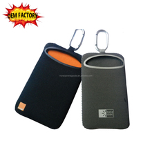 neoprene PE material OEM portable mobile phone case for iphone