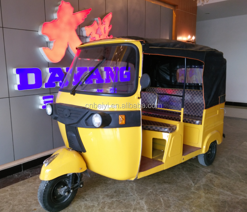new type heavy tuck tuk tuk passenger tricycle motorcycle for sale in Peru