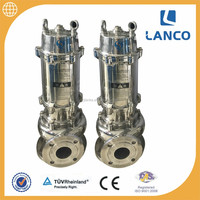 Stainless Steel Sanitary Submersible Sewage Pumps