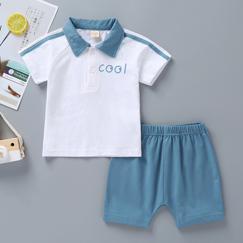 2019 casual cute new design sports style baby boy and girls sets clothes