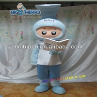 Hot sale advertising plush mascot costumes for adults