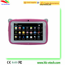 Bulk Wholesale cheapest 4.3 inch Kids Education Tablet PC double Cameras Android 4.2 games tablet for kids