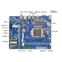 Support Intel Core i3/i5/i7 CPU LGA1150 Motherboard H81
