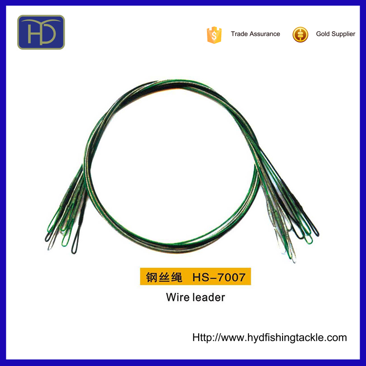 Salt Water Fishing Tackle Wholesales HS-7007 Fishing Wire Leader