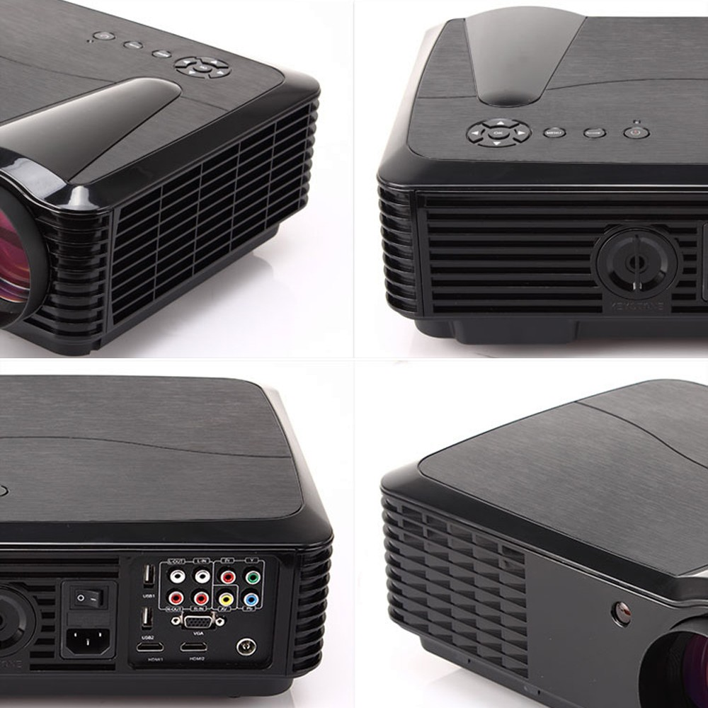 High brightness 4500 Lumens Native1280*800 Built-in Android 5.1 WiFi 3D Digital projector,Perfect For Home projecgtor