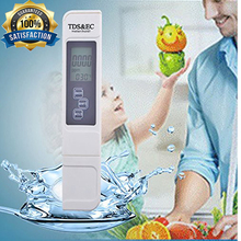 Monitor TDS EC levels for aquariums pools hydroponics water quality tester tds ec meter