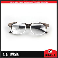 Fashion Acetate optical frame metal custom eyeglass