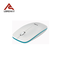 2.4g Wireless Custom Optical Mouse With Mini Receiver