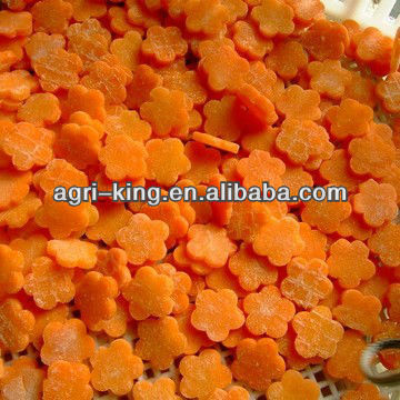 IQF Carrot Import Vegetables