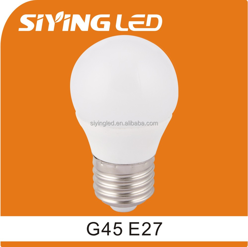 2014 newest product 5W e14/e26/e27/b22 dimmable g45 led bulb