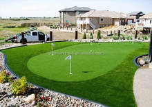 Golf turf poly grass artificial grass synthetic lawn sports pitches