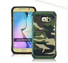 Heavy duty hybrid rugged silicone cases with stander for Sams ung galaxy S6