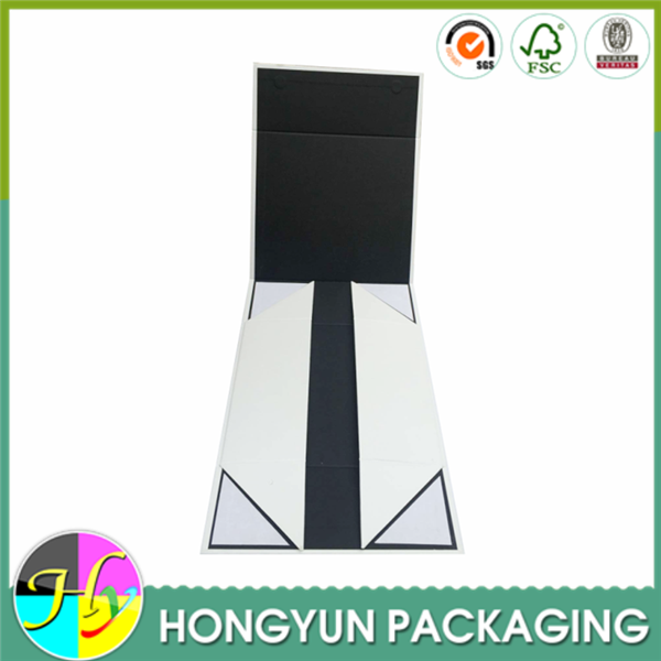 wholesale embossed logo rigid cardboard gift boxes to decorate