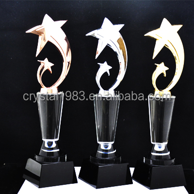 Custom K9 crystal trophy wholesale new design crystal trophy and awards TA6927 Ruiliang Crystal Handcraft Factory