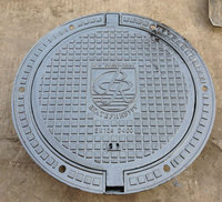 EN124 foundry gully iron manhole cover from factory