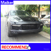 Hot sell car spare part body kits for Porsche Cayenne 11+ bumper car accessories