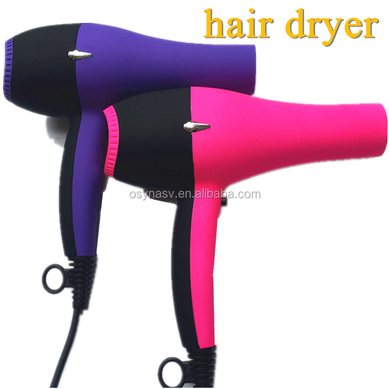 Fashionable Design Hair Dryer 110-240V Dual Voltage Fast Dry Hair 3 Colors Beauty Hair Dryer