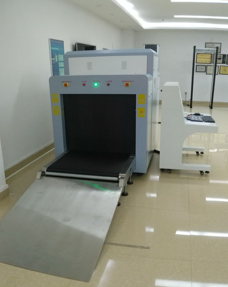 Used In Airport Subway Cargo Security Detector X-ray Luggage Scanner Equipment TS-8065 X Ray Baggage Scanner