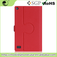 Premium PU Leather Rotating Tablet Cases For Amazon Kindle Fire 7