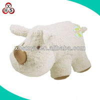 Adult plush and stuffed toys soft rhino plush toys