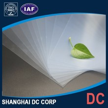 A4 Size PVC Material Inkjet Printable Clear Transparent Plastic Sheet