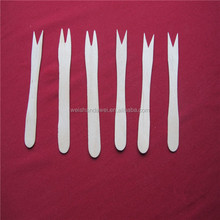 Factory Wholesale Cheap disposable wooden fork