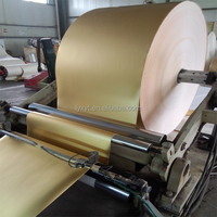 Metallic Tobacco Packing Gold Paperboard Jumbo Roll For Cigarette