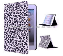 Leopard Leather Tablet Case for ipad mini, leopard print cell phone case for ipad mini 2