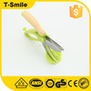 Non-slip Grips Toss and Chopped Salad Scissors with Stainless Steel Blades
