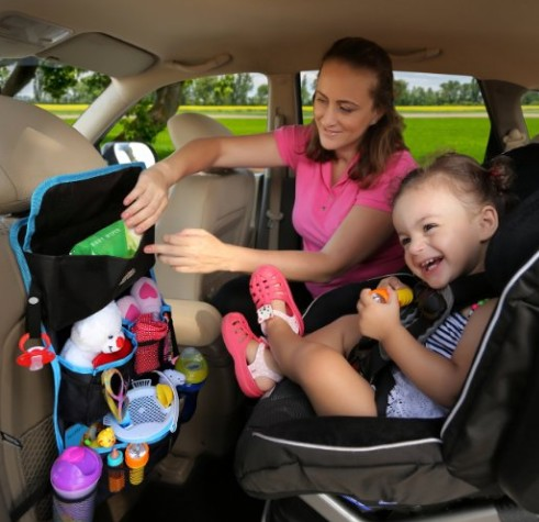 Manufacturer car back seat organizer for kids