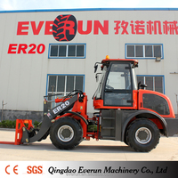 Everun Mini Loader Compact Loader Farm Tractor with Electric joystick