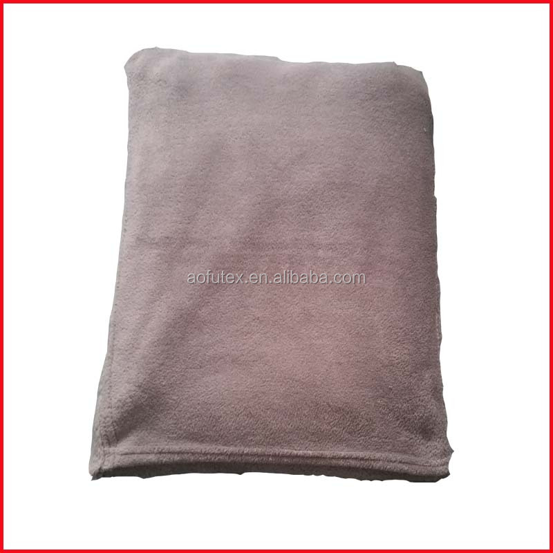2 in 1 blanket Coral fleece travel pillow blanket