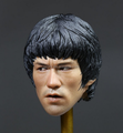 Wholesale Chinese Kung Fu Star 16 Scale Head Sculpt/Design Your Own Famous Star Head Model For Toys Figure