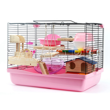 2017 Carno small animal cage hamster cage pet mesh wire cage for Rabbits