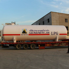 Cheap price horizontal LPG gas storage tank for sale