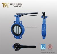 Professional Factory Handle Wafer Butterfly Valve