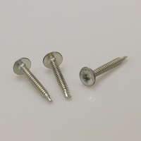 high quality self drilling concrete big flat head self tapping screw