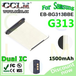New Model For Samsung G313 Battery 1500mAh EB-BG313BBE