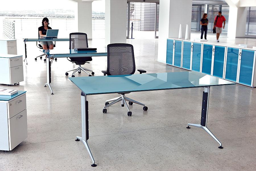 escritorios de oficina plegable barato / de tabla del escritorio socio  oficina moderna oficina de mesa de diseño / moderna-Otros Muebles de ...