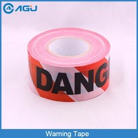 Custom Printed Good Strength Barricade Tape For Road Warning