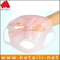 China wholesale factory products silicone face mask, eco-friendly silicone female facial mask